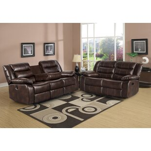 Trista 2 Piece Faux Leather Reclining Living Room Set by Red Barrel Studio