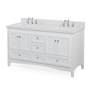 Abbey 60 Double Bathroom Vanity Set