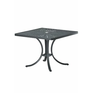 La'Stratta Aluminum Dining Table by Tropitone Best Choices
