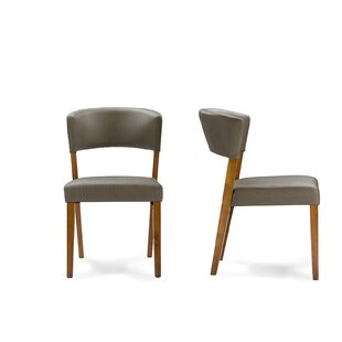 Comparison Seibert Upholstered Dining Chair (Set of 2) by Ivy Bronx Reviews (2019) & Buyer's Guide