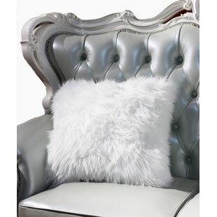 Willington Luxury Decorative Faux Fur Throw Pillow