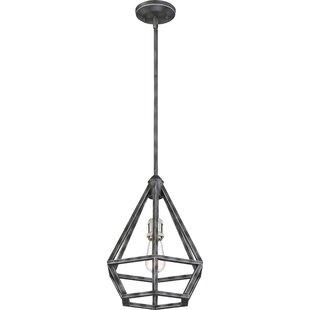 Brayden Studio Basil 1-Light Geometric Pendant