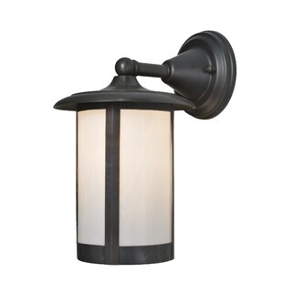 Reviews 1-Light Outdoor Wall Lanterne By Meyda Tiffany