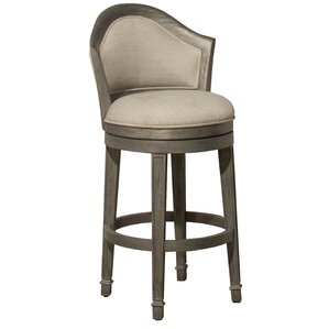 Gudrun 30'' Swivel Bar Stool by One Allium Way