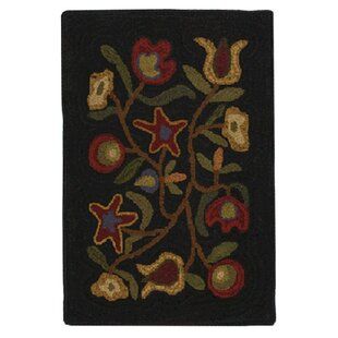 Check Prices Hooked Walk In The Flowers Area Rug ByHomespice Decor