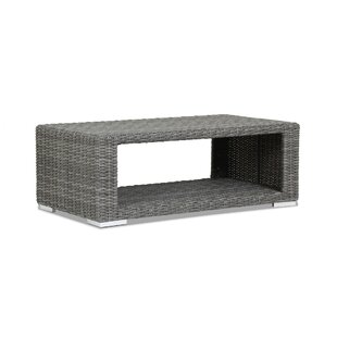 Emerald II Wicker Coffee Table