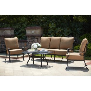 Capri 4 Piece Sofa Set with Cushions