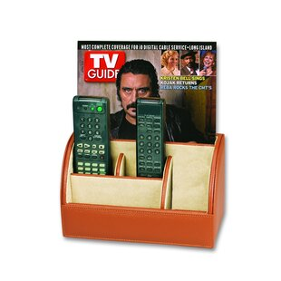 Men's Leather Goods Multimedia Remote Control Holder by Budd Leather #1