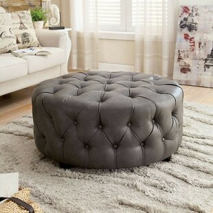 Kyles Tufted Cocktail Ottoman by Alcott Hill
