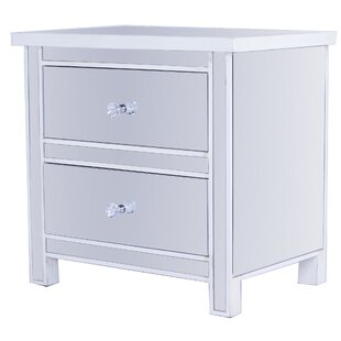 Gibbs Mirrored 2 Drawer Accent Chest