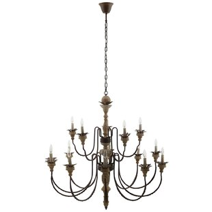 Ophelia & Co. Frances 15-Light Candle Style Chandelier