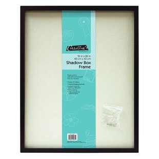 Linen Shadowbox Picture Frame. By MCS Industries