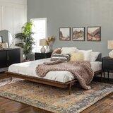 Dorinda King Solid Wood Low Profile Platform Bed by AllModern
