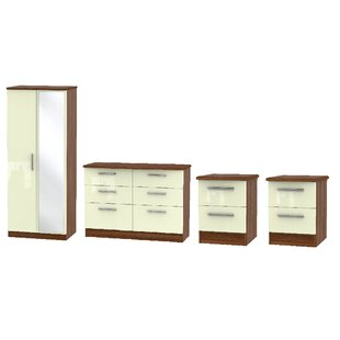 Yvette 4 Piece Bedroom Set