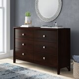 Chara 6 Drawer Double Dresser by Latitude Run®
