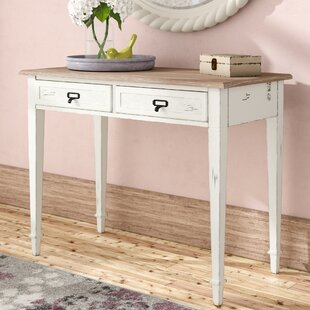 Lark Manor Geernium 2 Drawer Writing Desk