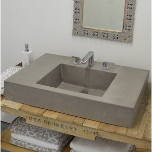 Top Crabpot Rectangular Vessel Bathroom Sink By Hyde Products