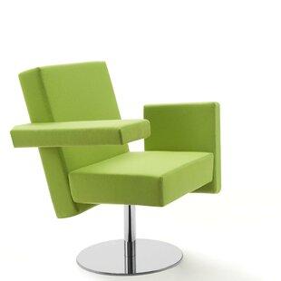 Meet Me Swivel Arm Guest Chair