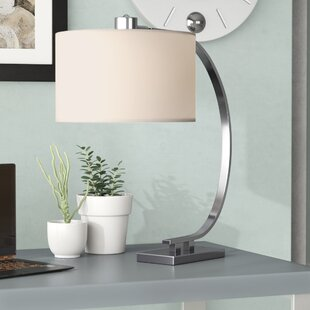 Reviews Mischa 21 Arched Table Lamp By Wade Logan