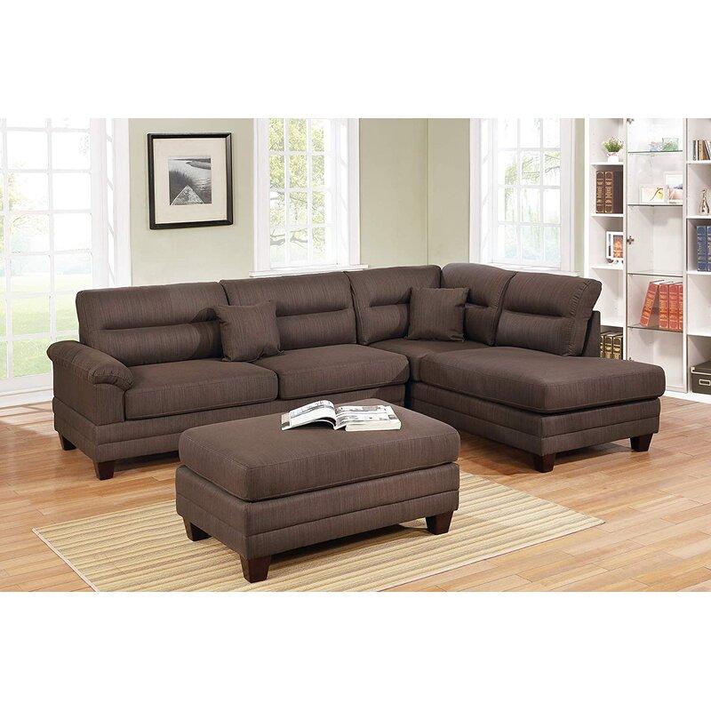 Latitude Run Brovey 3 Piece Standard Living Room Set Wayfair