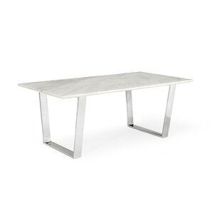 Clower Marble Top Dining Table by Orren E..