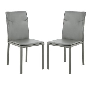 Wrought Studio Dexter Upholstered Dining Chair (Set of 2)