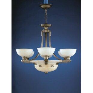 Zanin Lighting Inc. Cadiz 9-Light Shaded Chandelier
