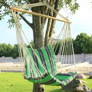Adeco Trading Hanging Suspended Chair Hammock