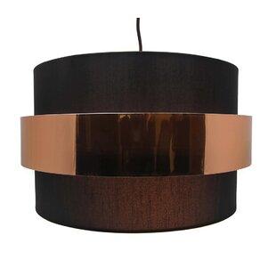 Elizondo 1-Light Drum Pendant by Orren Ellis