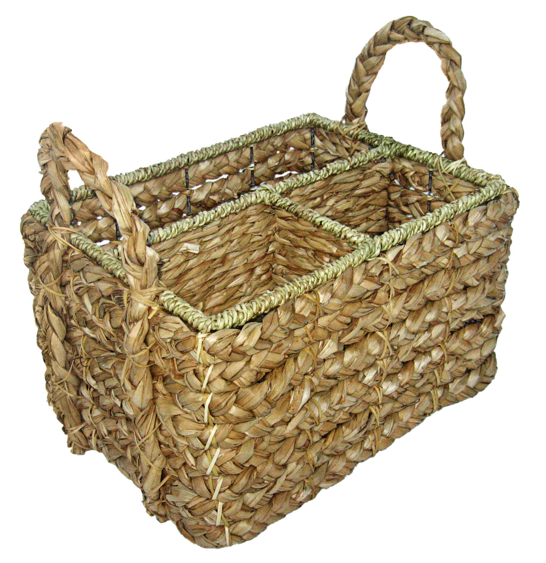 Cheungs Garden Tool Wicker Basket   Wayfair