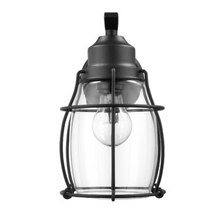 Jolicia Industrial Textured Outdoor Wall Lantern