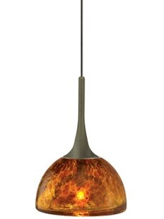 Ebern Designs Dressler 1-Light Dome Pendant