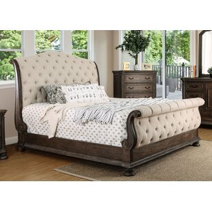 Astoria Grand Murillo Transitional Upholstered Sleigh Bed
