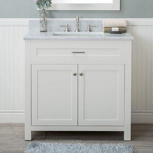 bathroom vanity single sink. Drolet 36  Single Bathroom Vanity Set Vanities Joss Main