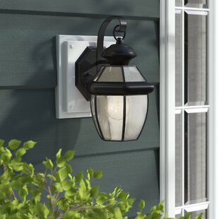 Comparison Mellen 1-Light Traditional Outdoor Wall Lantern By Three Posts