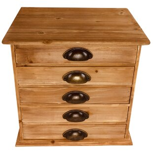 Mission Viejo 5 Drawer Chest By Borough Wharf