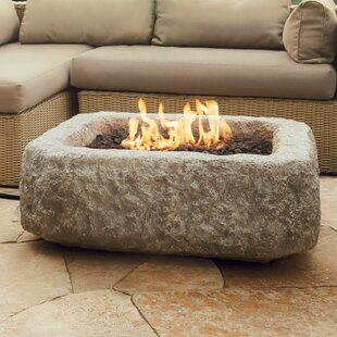 Real Flame Concrete Propane Fire Pit