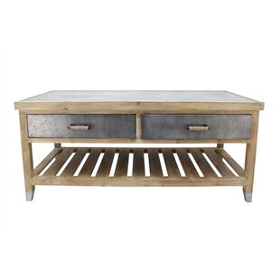 Gracie Oaks Atlanta Wooden Coffee Table