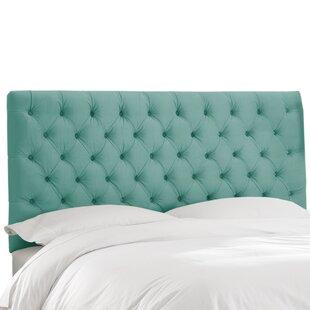 Deeanna Tufted Lush Velvet Upholstered Panel Headboard