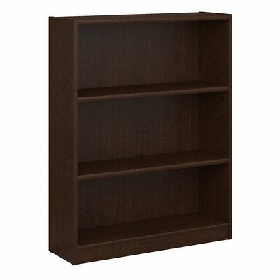 Ebern Designs Kirkbride Standard Bookcase Finish: Mocha Cherry