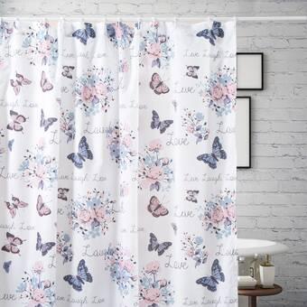 East Urban Home Elena David Sparkly Unicorn Single Shower Curtain Wayfair