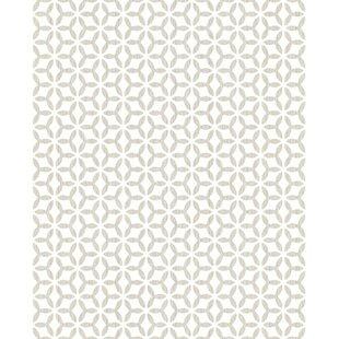 Helice Geometric 10m x 52cm Matte Wallpaper Roll by Graham & Brown