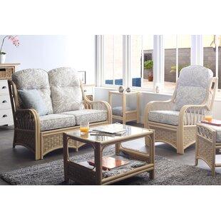 Alaina 5 Piece Conservatory Sofa Set By Beachcrest Home