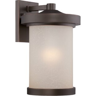 Compare Thorpe 1-Light LED Outdoor Sconce By Alcott Hill