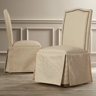 Affordable Alison Skirted Upholstered Parson Chair (Set of 2) By Birch Lane™