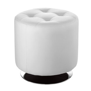 Brierfield Domani Swivel Tufted Ottoman by Wade Logan