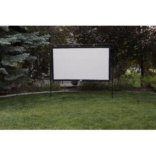 Gray 70 x 82 Portable Folding Frame Projector Screen