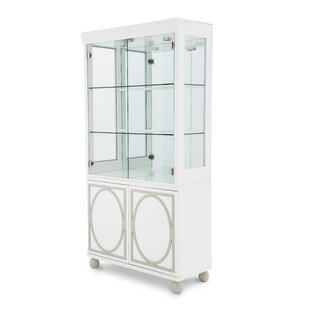 Sky Tower Lighted China Cabinet by Michael Amini