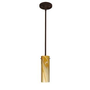 Besa Lighting Copa 1-Light Cylinder Pendant
