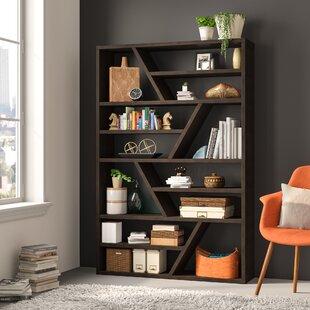 Swarey Geometric Bookcase By Mercury Row